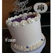 Yummy Vanilla And Chocolate Birthday Cake | Meals & Drinks for sale in Lagos State, Ipaja