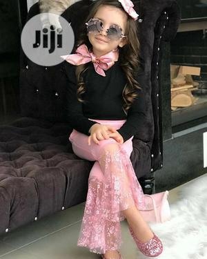 Pink Palazo Pants And Top   Children's Clothing for sale in Lagos State, Ojo