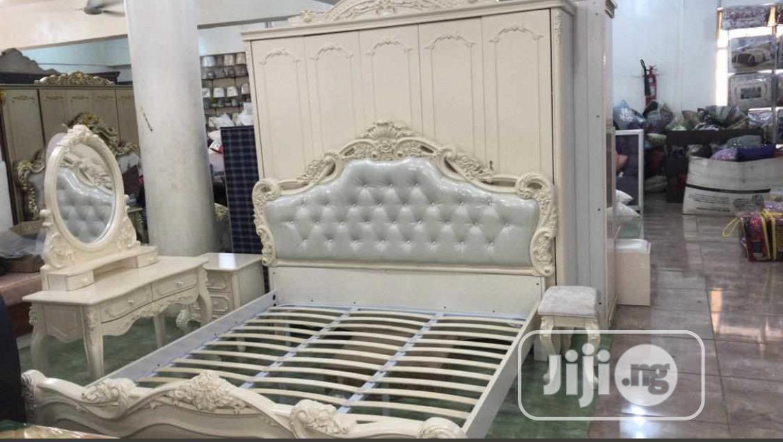 Cream Royal Bed