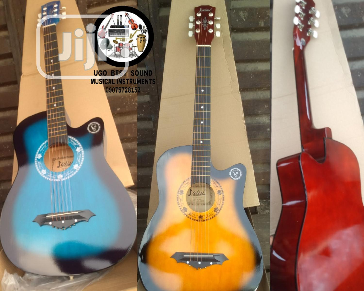 Best Acoustic Box Guitar (So Far) Learners Professionals   Musical Instruments & Gear for sale in Mushin, Lagos State, Nigeria