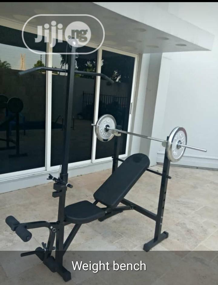 American Premium Commercial Weight Bench