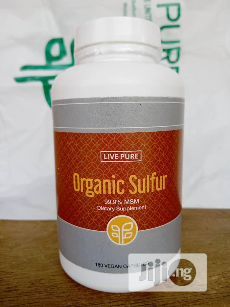 Archive: Organic Sulphur Capsule