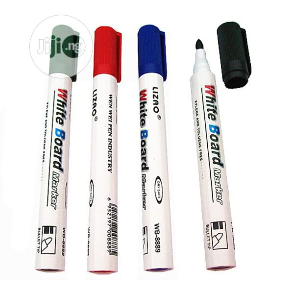 Cheap Original White Board Markers | Stationery for sale in Port-Harcourt, Rivers State, Nigeria