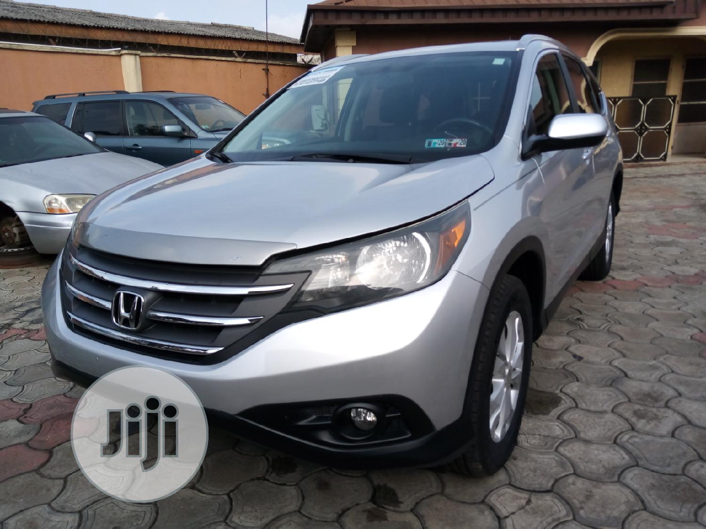 Honda CR-V 2013 Silver