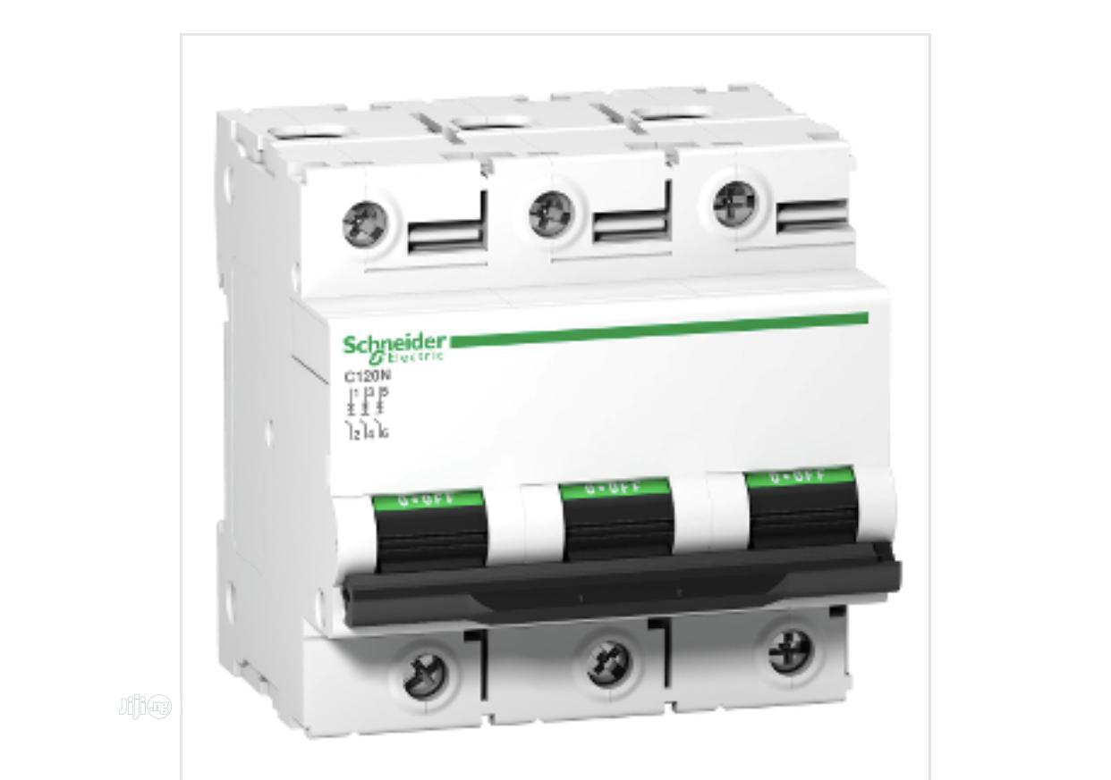 Schneider Electric Acti 9 3P Miniature Circuit Breakers