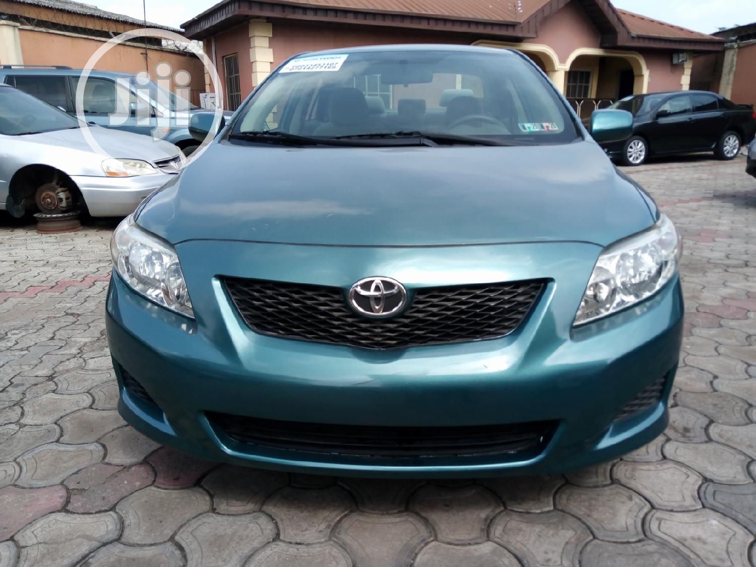 Toyota Corolla 2009 Green | Cars for sale in Alimosho, Lagos State, Nigeria