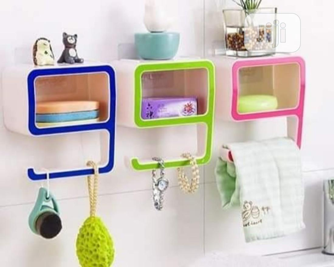 9 Shape Bathroom Shelf/Storage