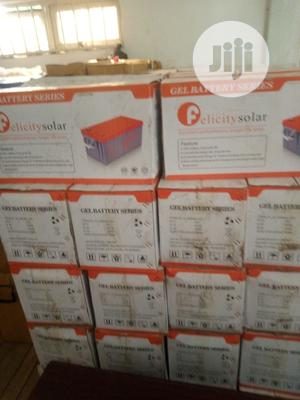 200ah/12v Felicity Solar Gel Battery   Solar Energy for sale in Rivers State, Port-Harcourt