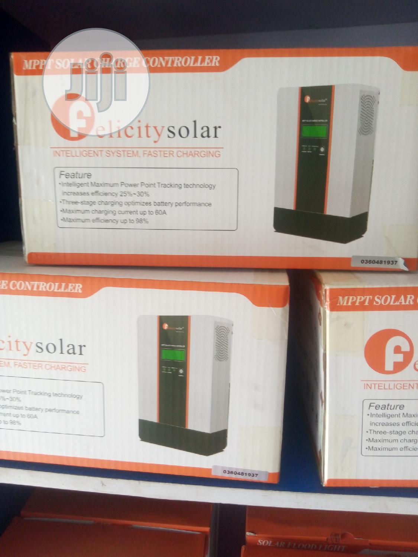 12v/24v/36v/48v/60a Felicity MPPT Solar Charge Controller
