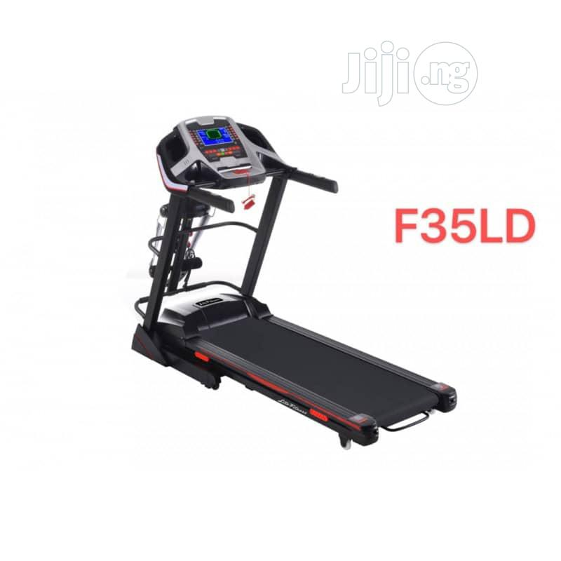 4HP Lite Fitness Treadmill With Massager Mp3 and Incline