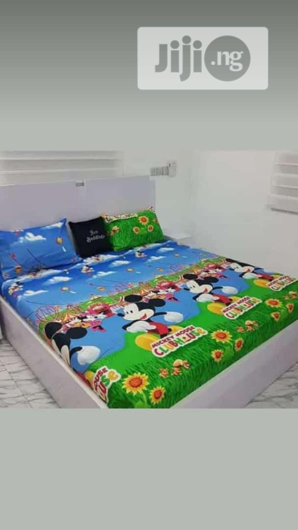 Bedspread and Pollowcase