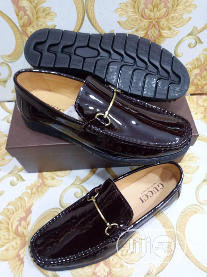 Check Out This Black Leather Gucci Design