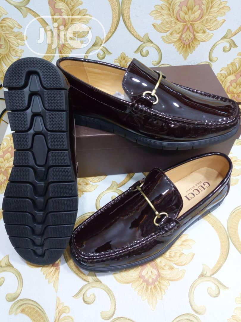 Check Out This Black Leather Gucci Design | Shoes for sale in Lagos Island, Lagos State, Nigeria