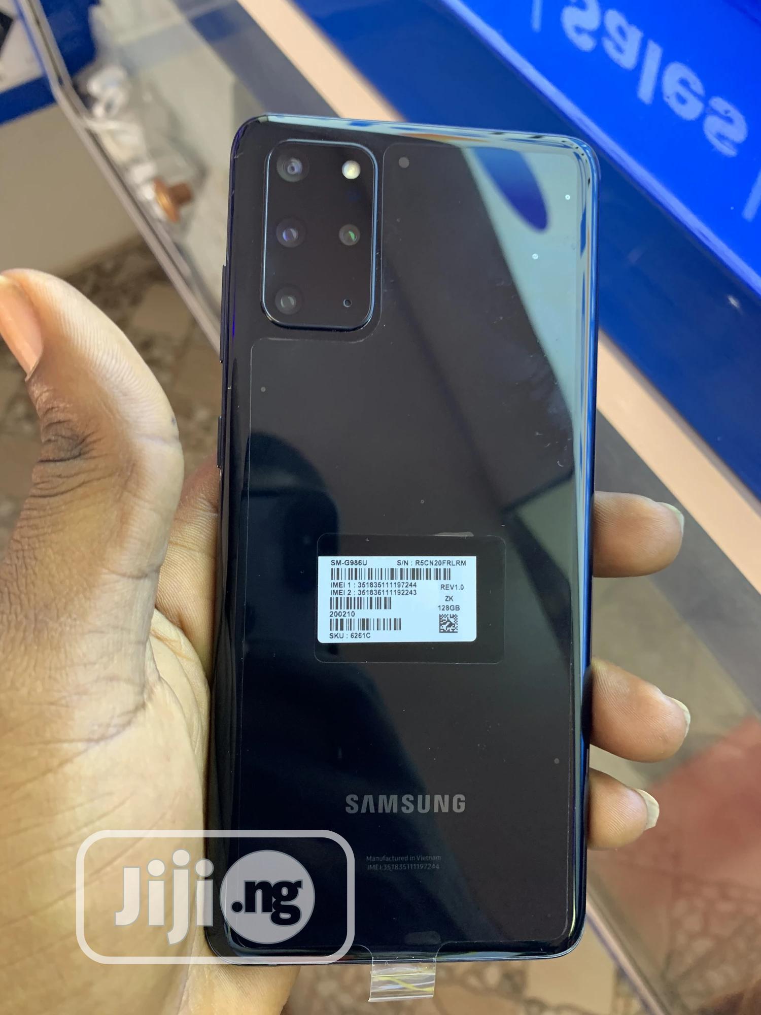 Samsung Galaxy S20+ 128 GB Black | Mobile Phones for sale in Benin City, Edo State, Nigeria