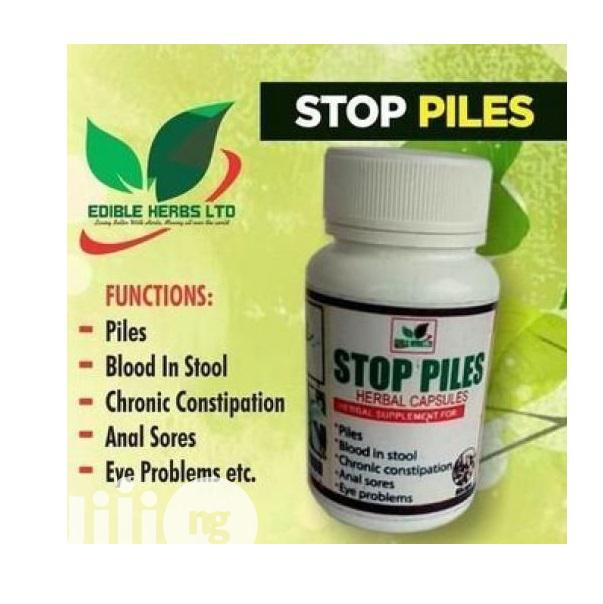 Edible Herbs Cure for Pile, Blood in Stool, Anal Sore