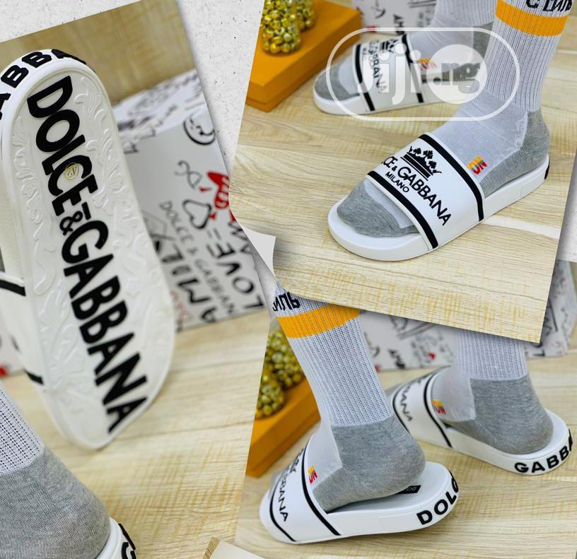Dolce &Gabbana Men's Slippers   Shoes for sale in Lagos Island, Lagos State, Nigeria