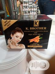 K. Brother Whitening Carrot Oil | Skin Care for sale in Lagos State, Lekki Phase 2