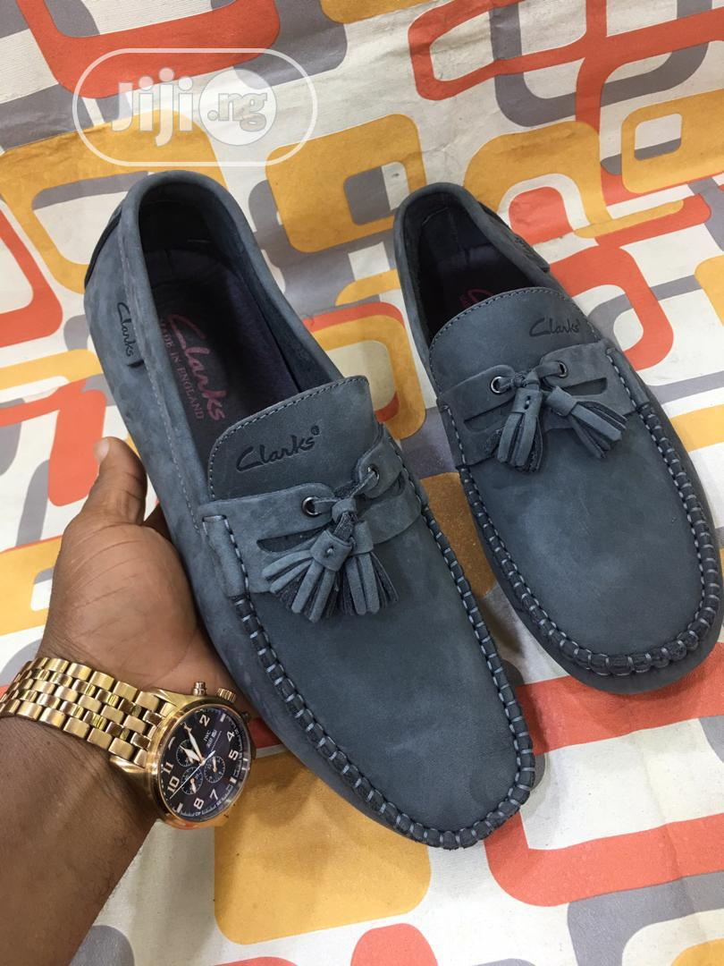 Check Out This Lovely Clarks Suede Shoe for Men Available.