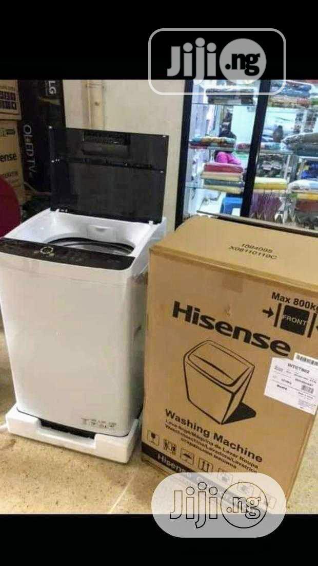Hisense Top Loader Washing Machine - WTCT802 8kg