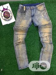 Fashion Men Designer Jeans   Clothing for sale in Lagos State, Ifako-Ijaiye