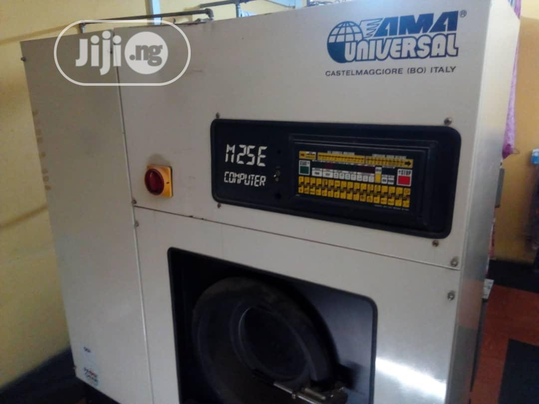 Archive: Universal Automatic Industrial Dry-cleaning Machine