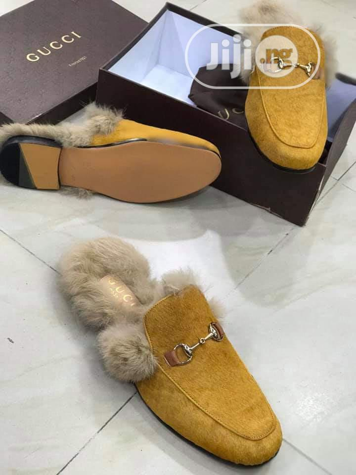 Check Out This Lovely Half Shoe Gucci Design Made for You. | Shoes for sale in Lagos Island, Lagos State, Nigeria