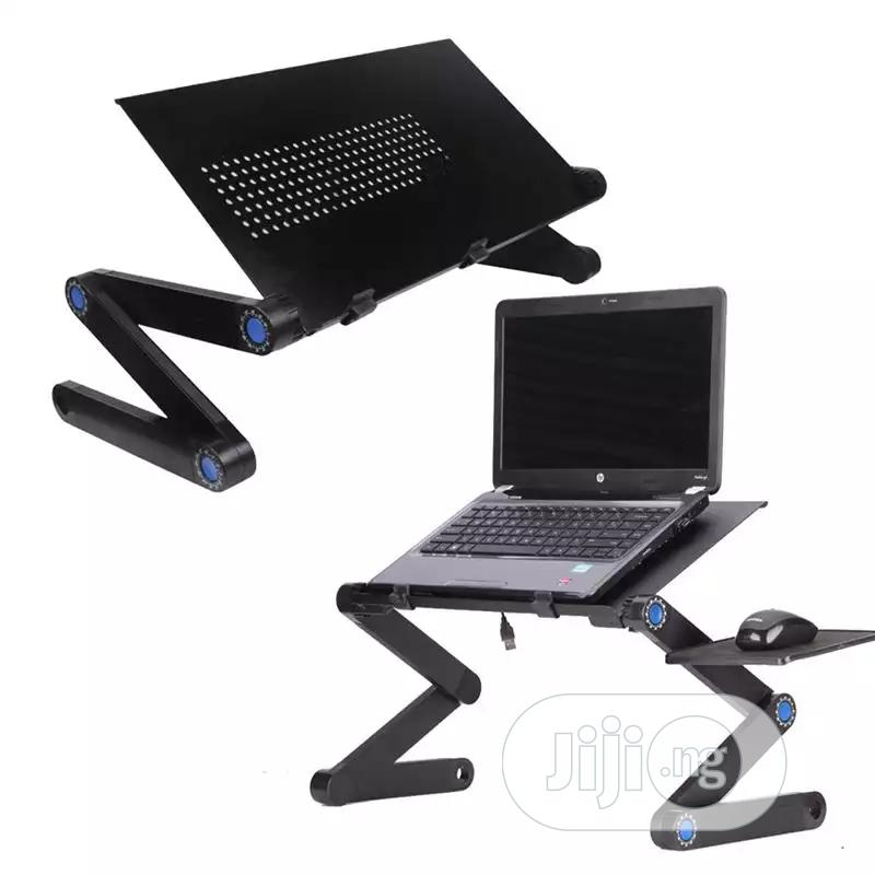 T9 Multifunctional Adjustable Laptop Table | Computer Accessories  for sale in Lagos Island, Lagos State, Nigeria