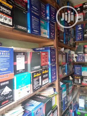 Original Dry Cell Car Battery And Jeep Battery | Vehicle Parts & Accessories for sale in Lagos State, Lagos Island (Eko)