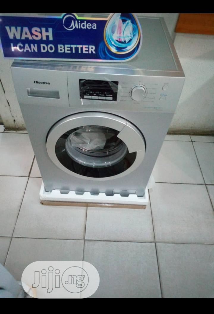 Hisense Washing Machine 8kg 1year Warranty Quality | Home Appliances for sale in Ojo, Lagos State, Nigeria