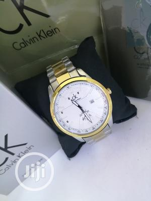 Calvin Klein (CK) Gold/Silver Chain Watch   Watches for sale in Lagos State, Lagos Island (Eko)