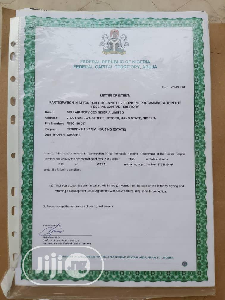 Archive: 1.8hectares Of Housing Estate Plot For Sale For Sale