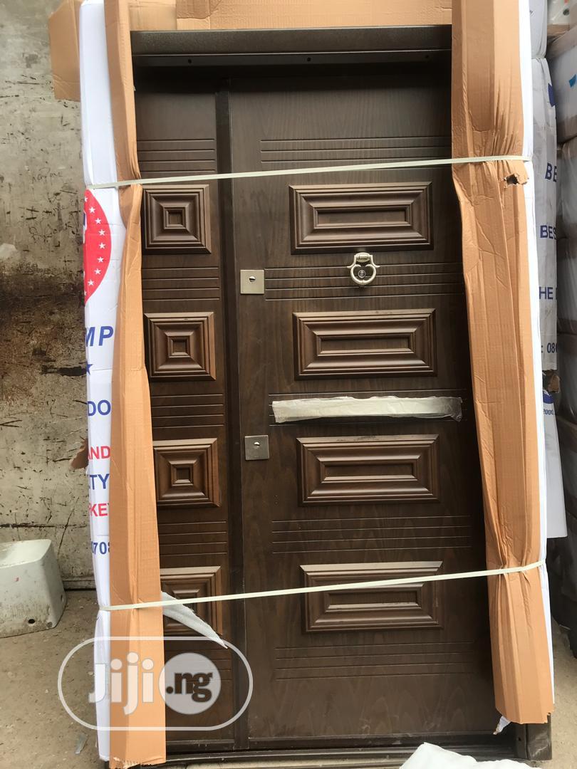 Archive: 4ft Luxury Turkish Armored Security Door