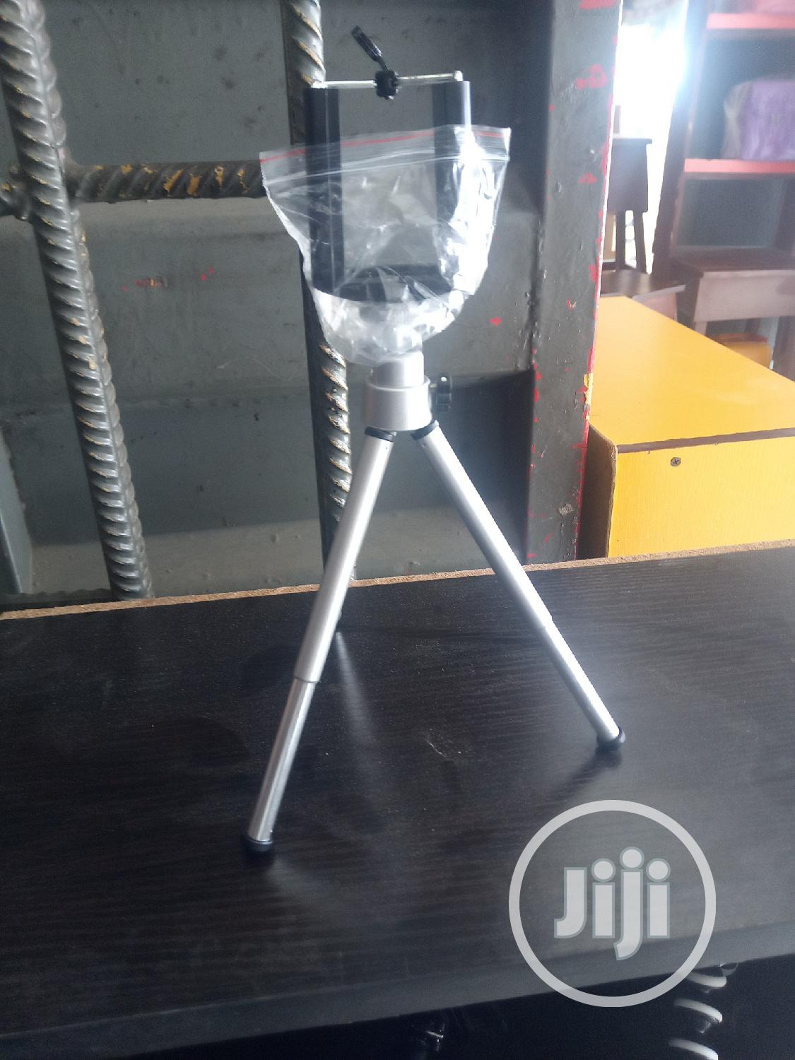 Table Tripod Stand With Remote Control
