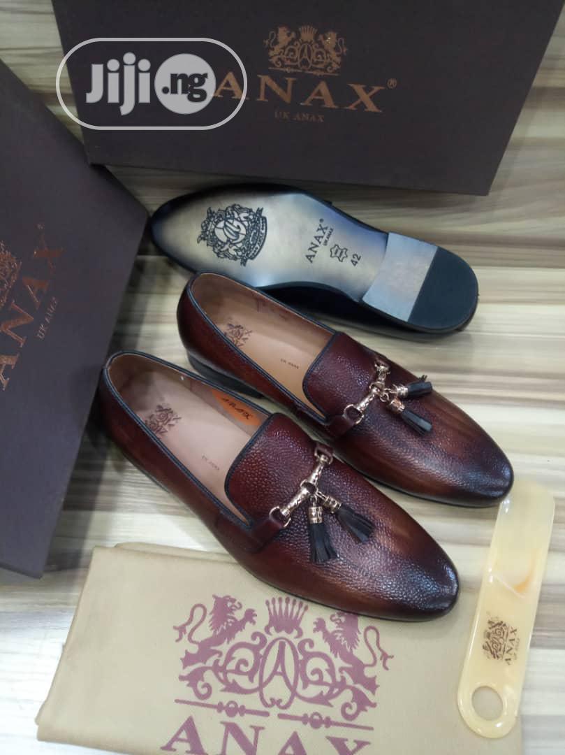 Italian Anax UK Anax Tassles Men's Shoes