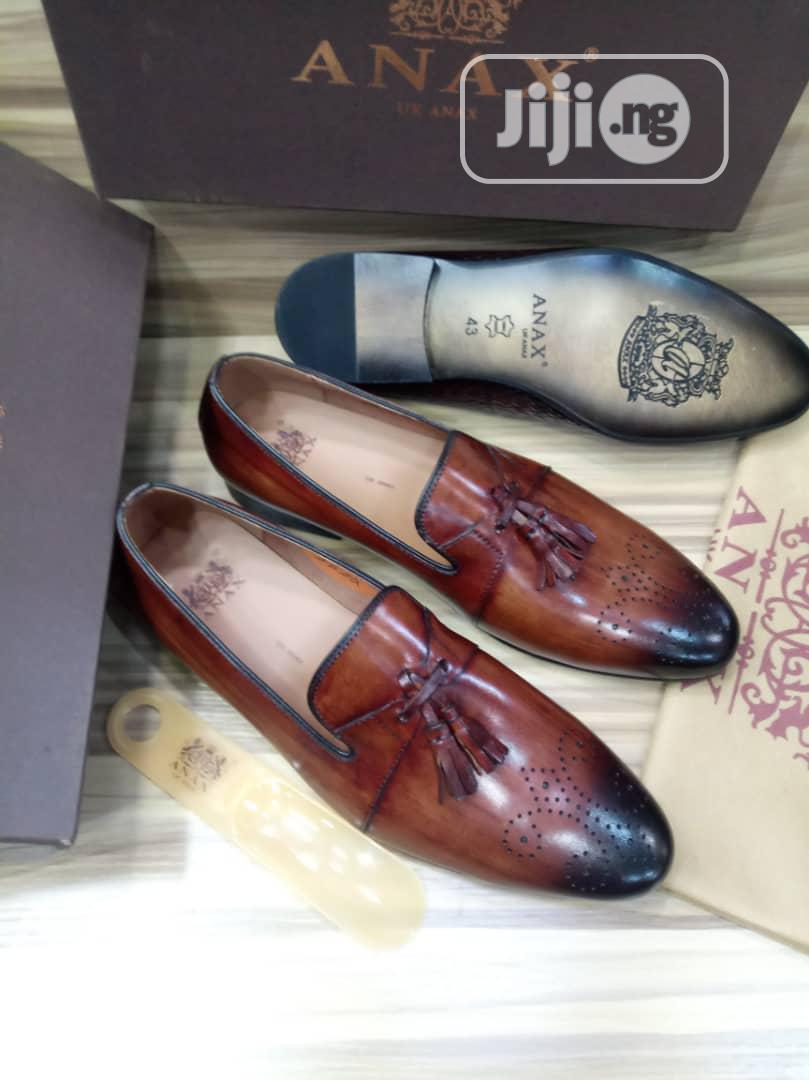 Italian Anax UK Anax Tassles Men's Shoes | Shoes for sale in Surulere, Lagos State, Nigeria