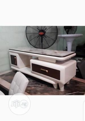 TV Stand White   Furniture for sale in Lagos State, Lagos Island (Eko)