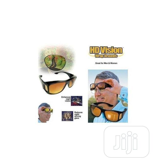 2-In-1 HD Day and Night Vision Glasses | Clothing Accessories for sale in Oshodi-Isolo, Lagos State, Nigeria