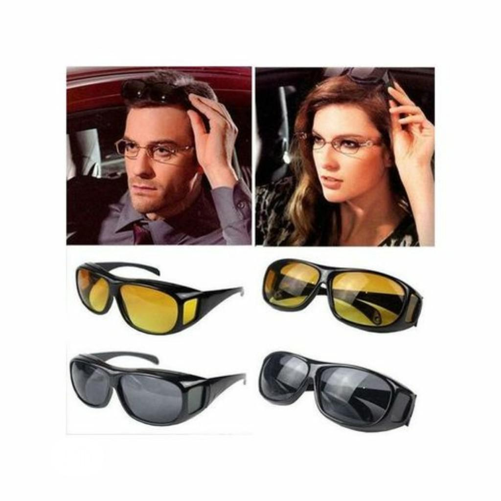 2-In-1 HD Day and Night Vision Glasses