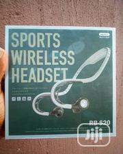 REMAX RB - S20 Wireless Sports Bluetooth Earphone Neckband Earbuds | Headphones for sale in Lagos State, Ikeja