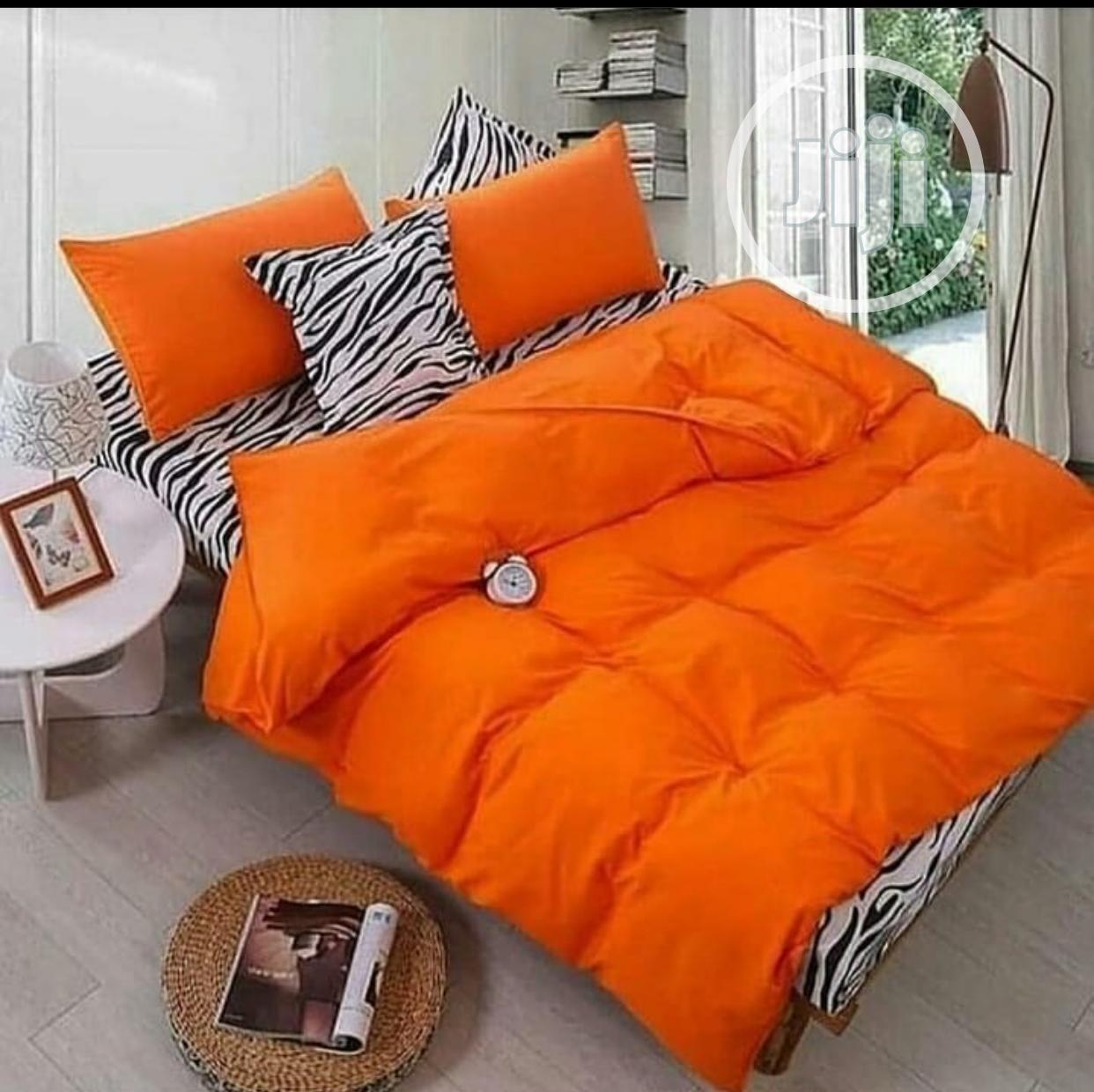 Bedsheets With Duvet For Sale ( 4*6, 6*7, 7*7)