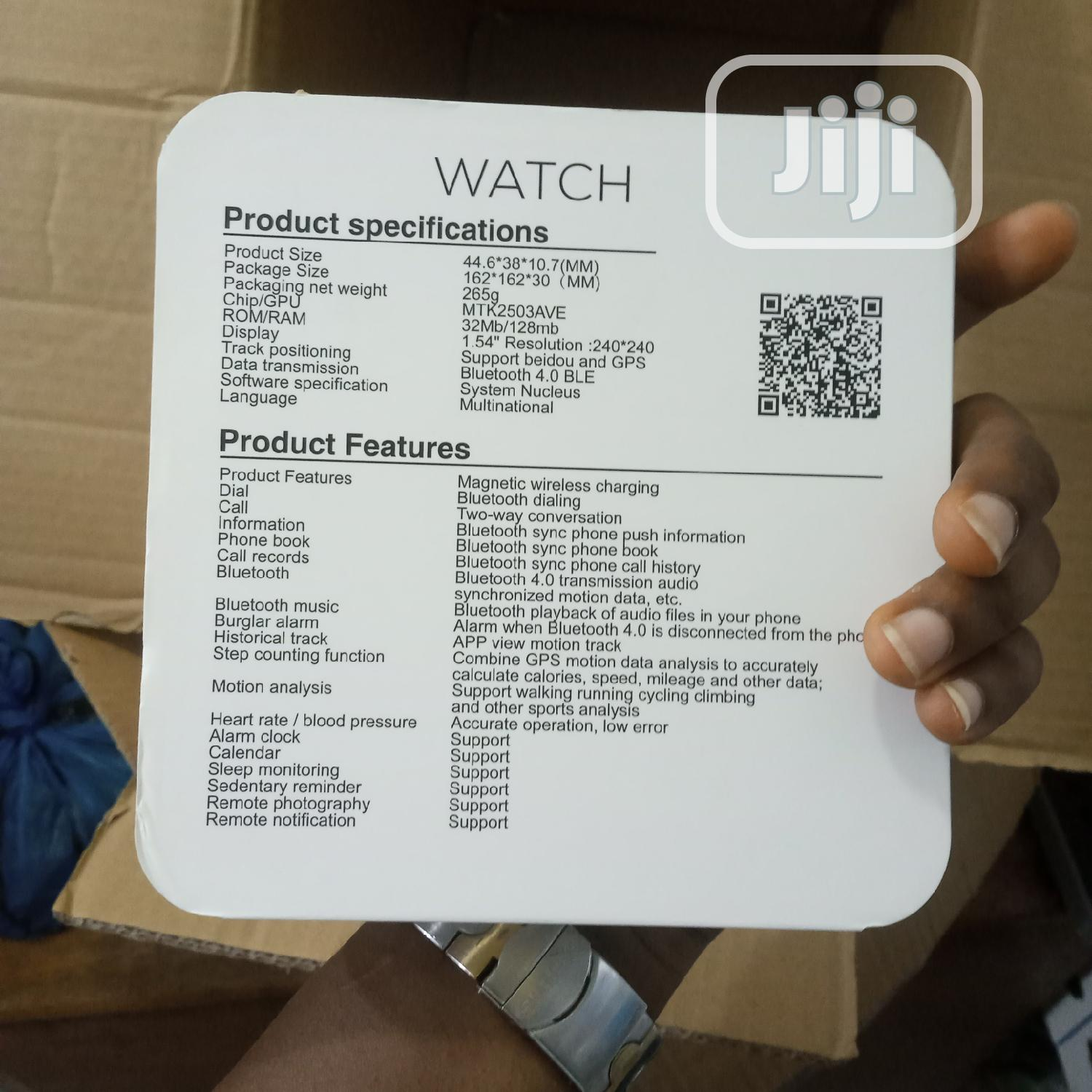 Series 4 Smart Sports Watch 6th Generation | Smart Watches & Trackers for sale in Lekki Phase 1, Lagos State, Nigeria