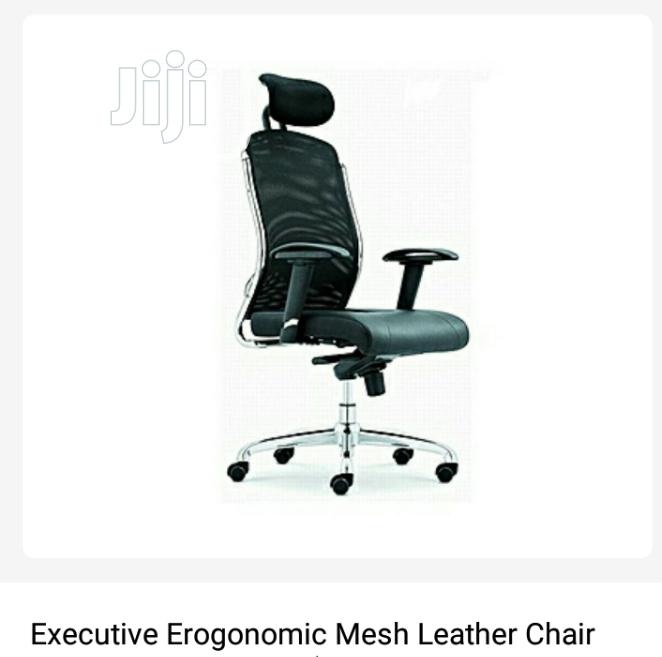 Brand New Imported Super Quality Executive Office Chair With Headrest