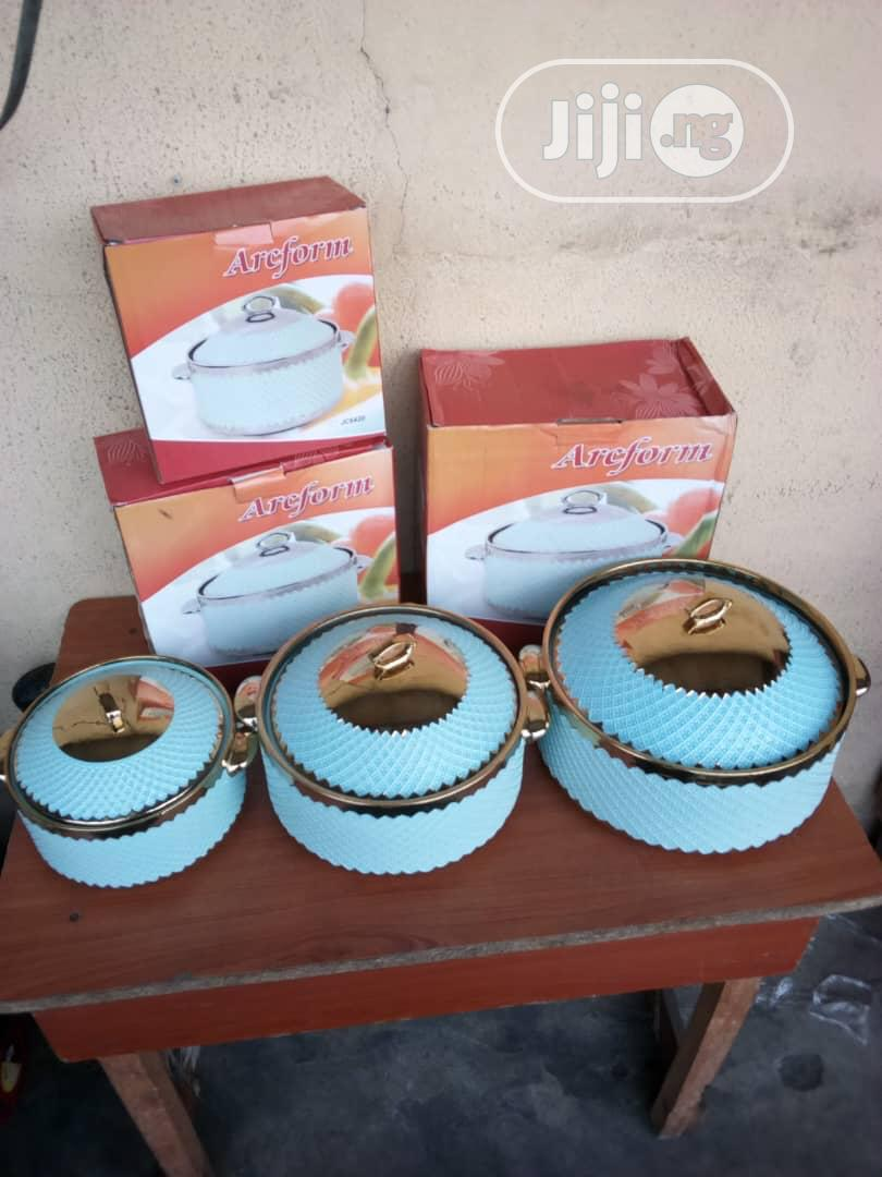 3 Sets Arcform Food Warmer Set | Restaurant & Catering Equipment for sale in Lagos Island, Lagos State, Nigeria