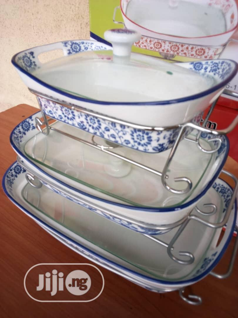 3pcs Food Warmer Sets | Restaurant & Catering Equipment for sale in Lagos Island, Lagos State, Nigeria