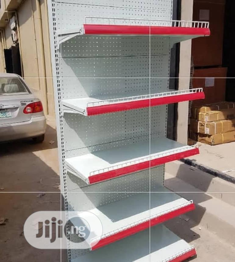 Quality Single Supermarket Shelf
