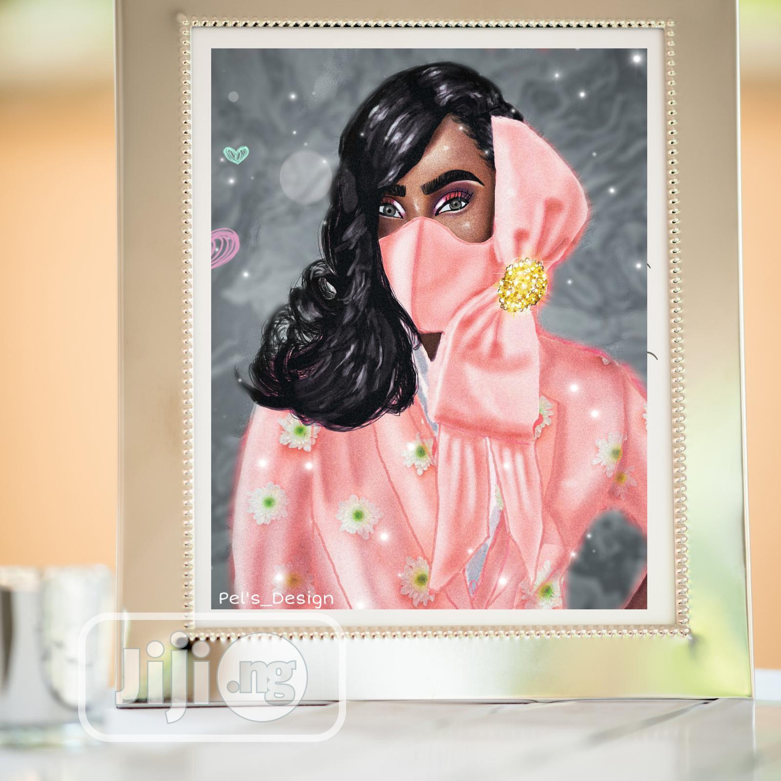 Archive: Digital Portrait Art & Fashion Illustrations.