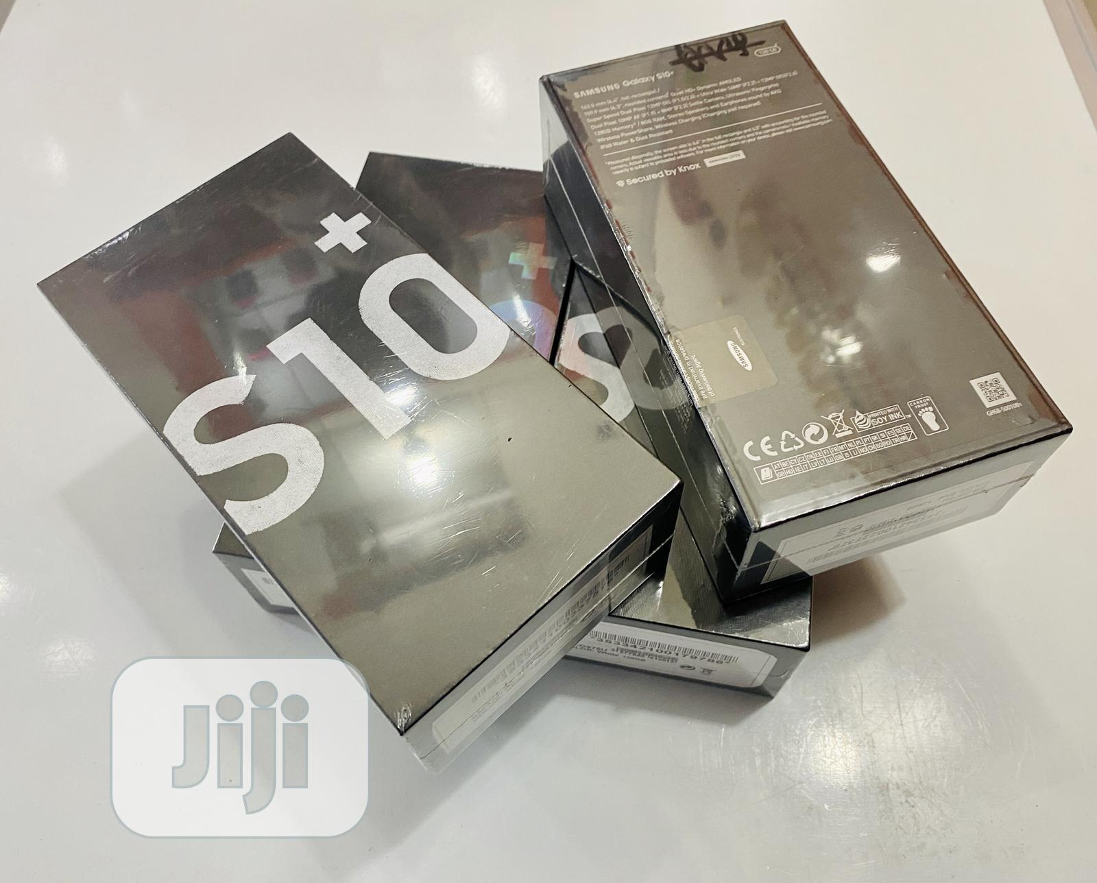 New Samsung Galaxy S10 Plus 128 GB Black | Mobile Phones for sale in Ikeja, Lagos State, Nigeria