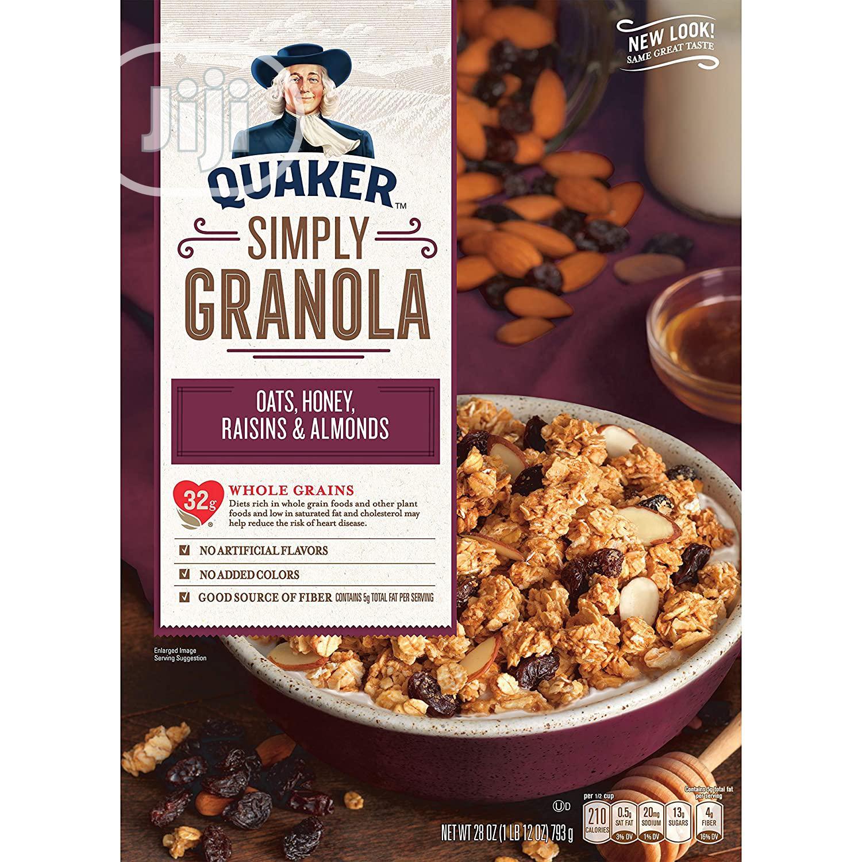 Quaker Oat Simply Granola Cereals