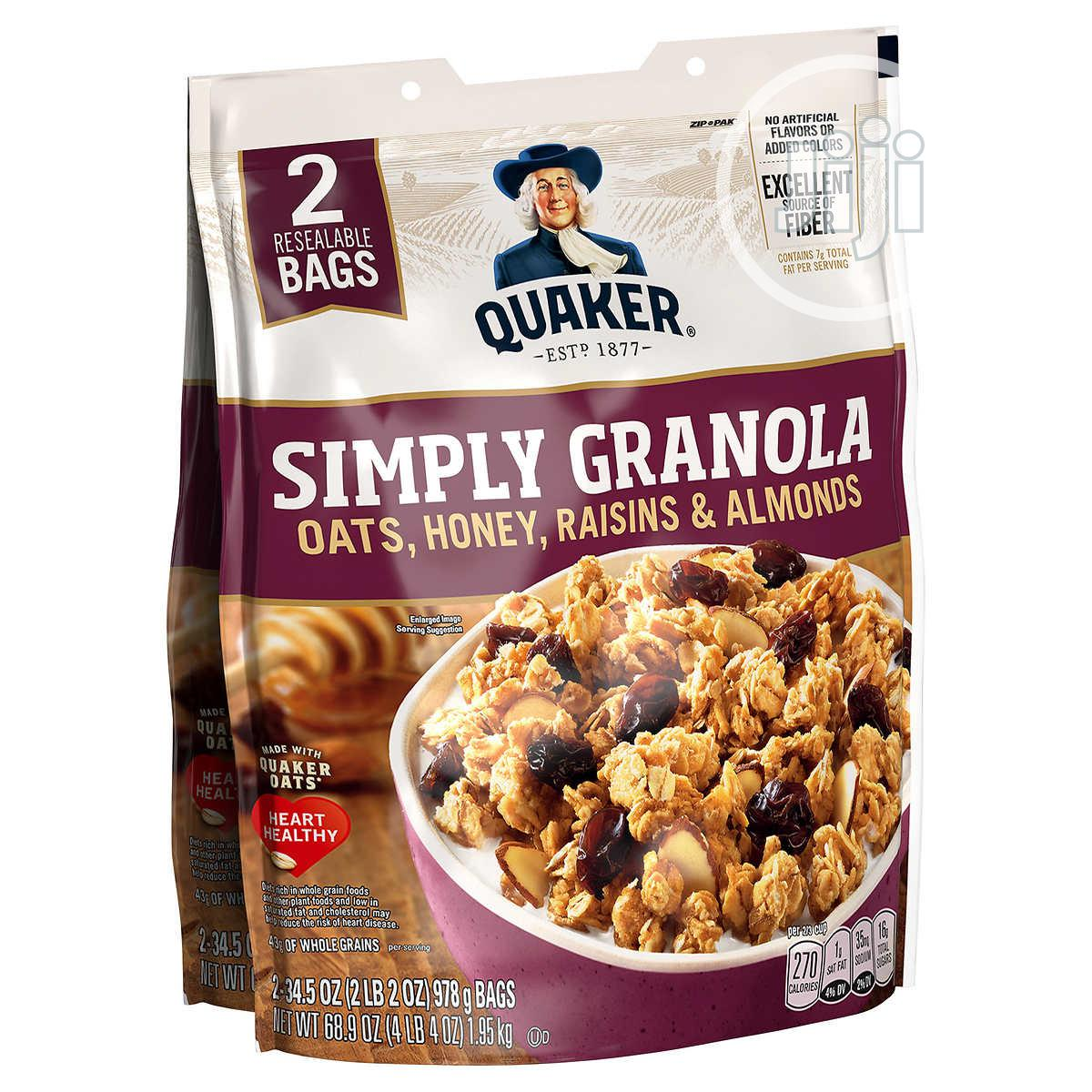 Quaker Oat Simply Granola Cereals   Meals & Drinks for sale in Ajah, Lagos State, Nigeria