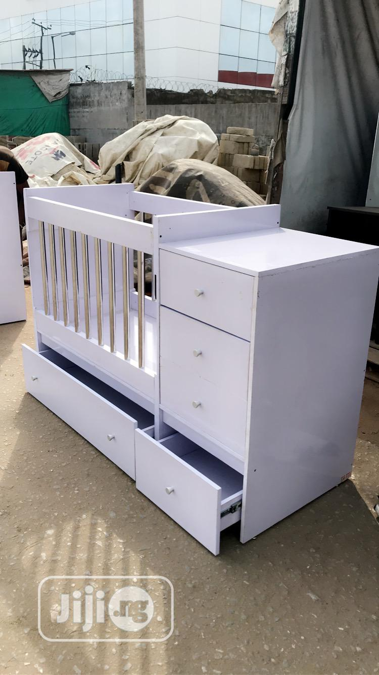 Lovely And Adorable Baby Cot For Sale At Affordable Price   Children's Furniture for sale in Mushin, Lagos State, Nigeria